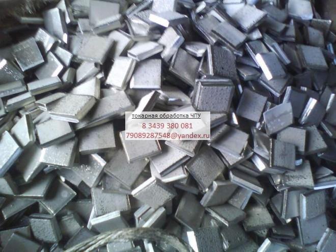 Токарная обработка никеля
