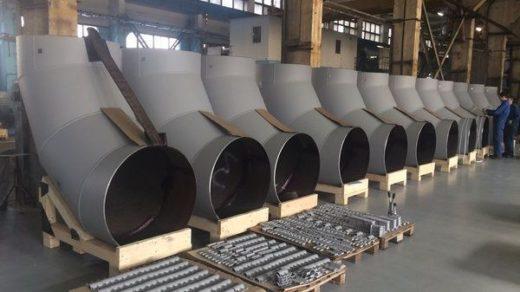 Производство деталей трубопроводов 1