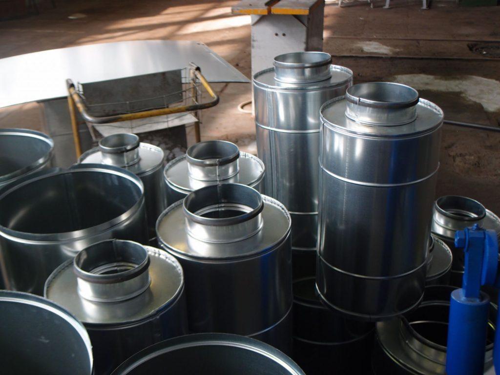 Производство воздуховодов из стали, алюминия, на заказ